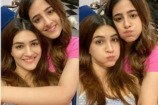 Kriti Sanon and Her Sister Nupur Look Adorable In This Picture