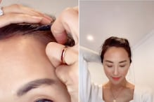 This TikTok Video Showing DIY Hack to Fix Receding Hairline is One we Just Can't Brush Away