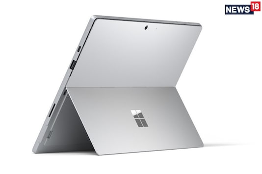 File photo of a Microsoft Surface Pro 7