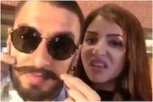 When Anushka Sharma Played with Ranveer Singh's Moustache in Dubsmash Video