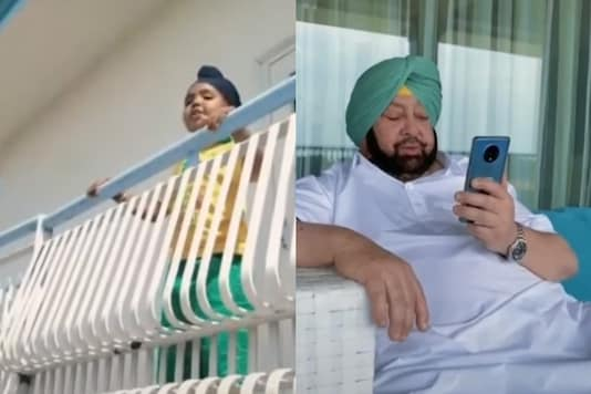 Punjab CM Teams Up with 5-year-old Tiktok Star to Talk About Social Distancing
