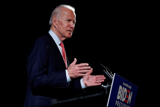 File photo of Democratic US presidential candidate Joe Biden.  REUTERS/Carlos Barria/File Photo