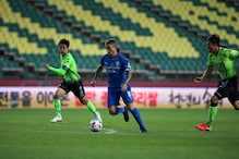 South Korea's K-League Kicks Off With Fans Watching from Afar