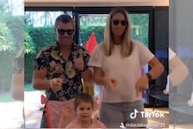 WATCH: David Warner Grooves to Thala Ajith's Tunes With Wife Candice and daughter Indi on TikTok