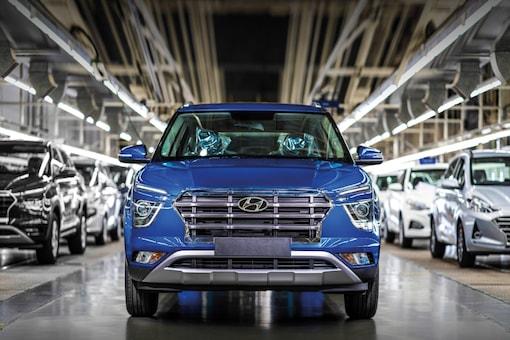 File photo of a Hyundai Creta seen at its production plant. (Photo: Hyundai)