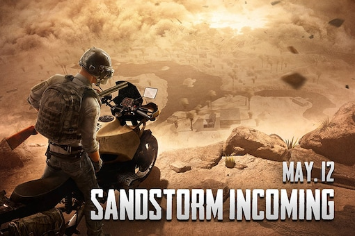 PUBG Mobile Mad Miramar Sandstorm Mode to Arrive on May 12