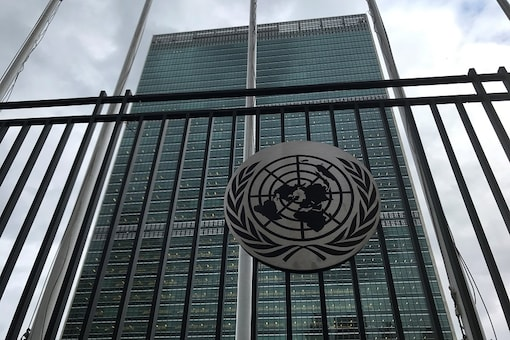 File photo of United Nations Headquarters which will remain temporarily closed for tours due to the spread of coronavirus in the Manhattan borough of New York City, (REUTERS/Carlo Allegri/File photo)