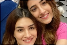 Kriti and Nupur Sanon Set up 'Chaat Corner' at Home, Gorge on Gol Gappe