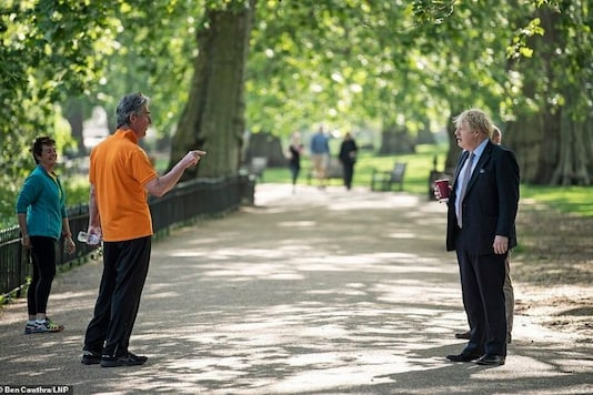 A Man Stopped Boris Johnson in a Park to Speak to Him. It's Not Privilege in an Ideal World