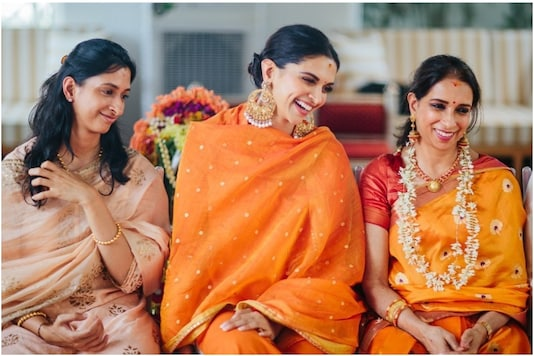 Deepika Padukone Shares Unseen Picture from Pre-wedding Rituals Featuring Sister Anisha, Mother Ujjala