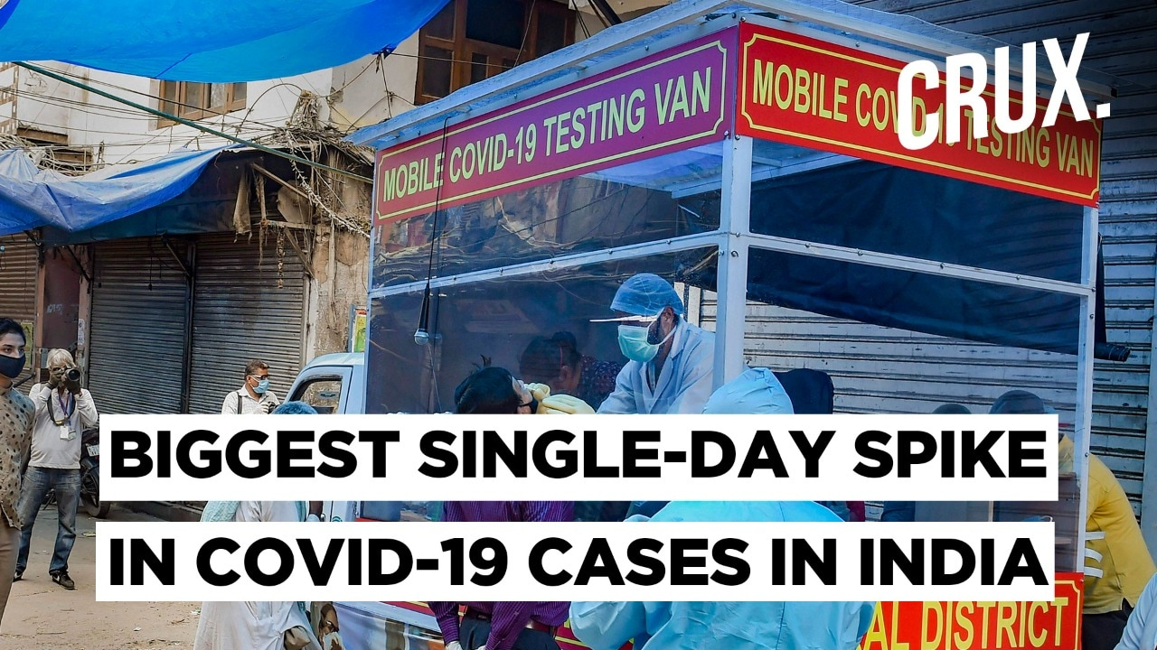 India Registers 4,213 Coronavirus Cases In The Biggest Single-day Spike
