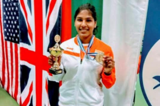Tamil Nadu fencer CA Bhavani Devi (Photo Credit: PTI)