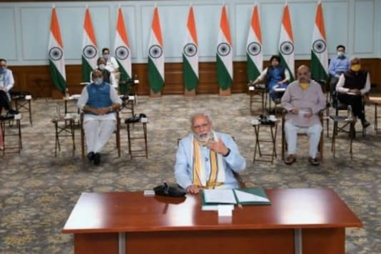 PM Modi interacts with chief ministers
