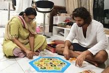 Lockdown Diaries: Vijay Deverakonda Enjoys Board Game With Mother