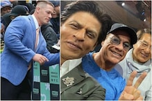 John Cena Shares Shah Rukh Khan's Pic with Van Damme and Jackie Chan
