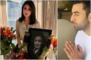 Rishi Kapoor's Terahvi: Alia, Karisma Join Ranbir, Riddhima to Offer Prayers