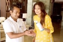 Shilpa Shetty Advises All To Use Hand Sanitiser, Gets Suggestions In The Comments Instead