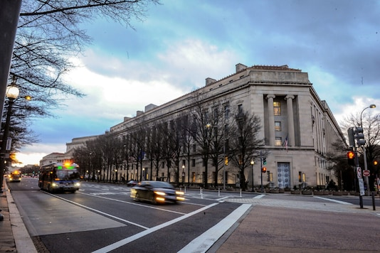 US Department of Justice building (Photo Credit: Reuters)