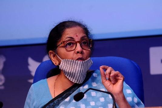 Finance Minister Nirmala Sitharaman (Image: Amlan Paliwal)