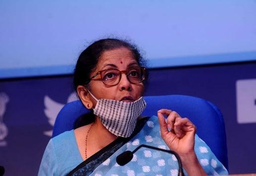 FM Nirmala Sitharaman addressed five press conferences on the economic package last week. (Image: Amlan Paliwal)
