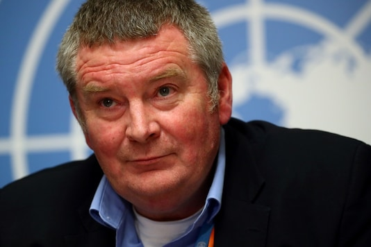 Mike Ryan, Executive Director of the World Health Organisation (WHO)   REUTERS/Denis Balibouse - RC13930FBB00