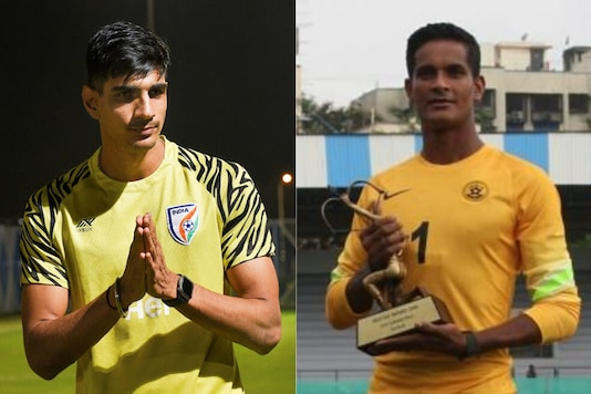 Gurpreet Singh Sandhu and Subrata Paul (Photo Credit: PTI and AIFF)
