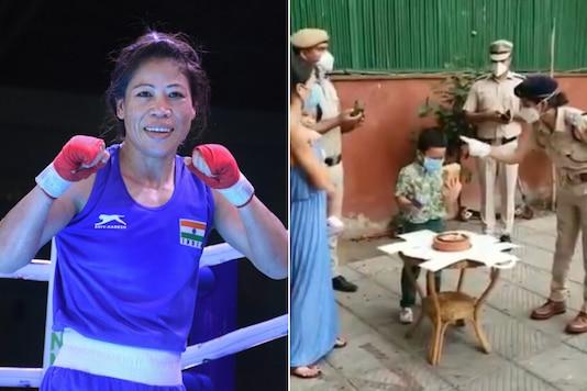 Mary Kom (Photo Credit: PTI and Twitter)