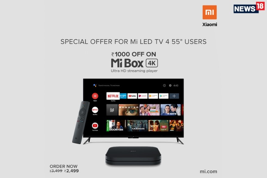 Xiaomi Mi TV 4 55 Will Not Get Android TV Update: But You Get a New Mi Box 4K Deal Sweetener