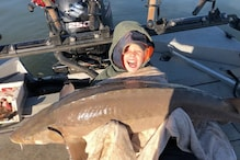 9-Year-Old Tennessee Boy Reels in 'Monster' Sturgeon Fish Weighing 36 kg, Frees it Later