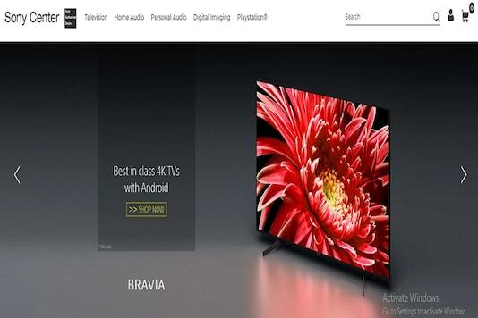 Sony Online store.