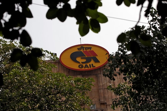 The logo of India's state-owned natural gas utility GAIL (India) Ltd.  REUTERS/Adnan Abidi/File Photo