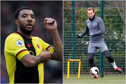 Troy Deeney (L) and Harry Kane (Photo Credit: Reuters)