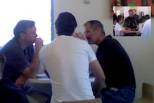 Rare Pictures of Steve Jobs Lunching With Google Co-founders Larry Page, Sergey Brin Surface Online