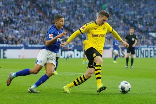 Borussia Dortmund-Schalke 04 (Photo Credit: Reuters)