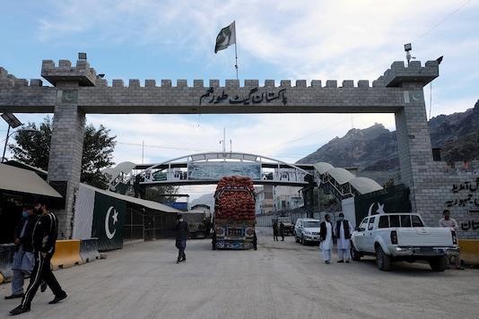A general view of the border post in Torkham, Pakistan.   REUTERS/Alasdair Pal - RC2LPE9F1R0W