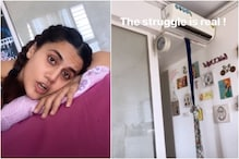 Lockdown Woes: Taapsee Pannu Does 'Jugaad' as She Cannot Get Her AC Repaired