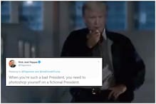 Donald Trump Trolled for Sharing 'Independence Day' Meme Featuring Himself as President amid Pandemic