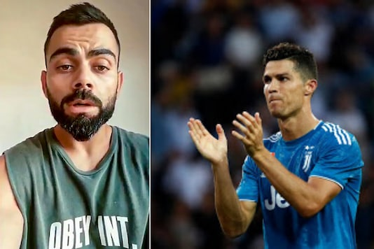 Virat Kohli and Cristiano Ronaldo (Photo Credit: PTI and AP)