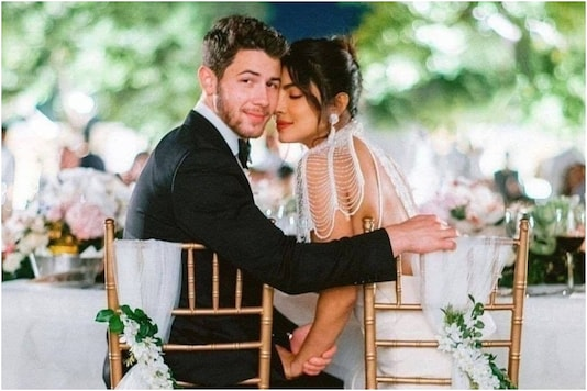 This Pic from Priyanka Chopra-Nick Jonas' White Wedding is Too Adorable to Miss