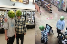Shoplifters in US Wear Watermelon Skin to Cover Face, Pose for Photos While Stealing from a Store