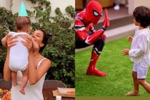 Lisa Haydon Celebrates Son Zack's 3rd Birthday With Homemade Cake And 'Spiderman' Surprise