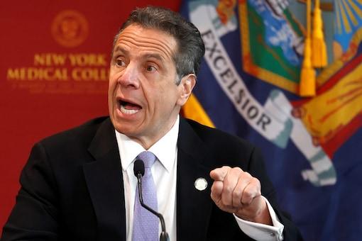 FILE PHOTO: New York Governor Andrew Cuomo  (REUTERS/Mike Segar/File Photo)