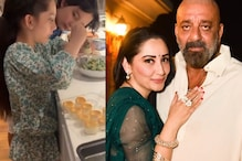 Sanjay Dutt's Kids Iqra and Shahraan are Busy in the Kitchen During Quarantine