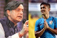 Need to Allow Sporting Talent the Right Choices from School Level: Shashi Tharoor Tells Sunil Chhetri