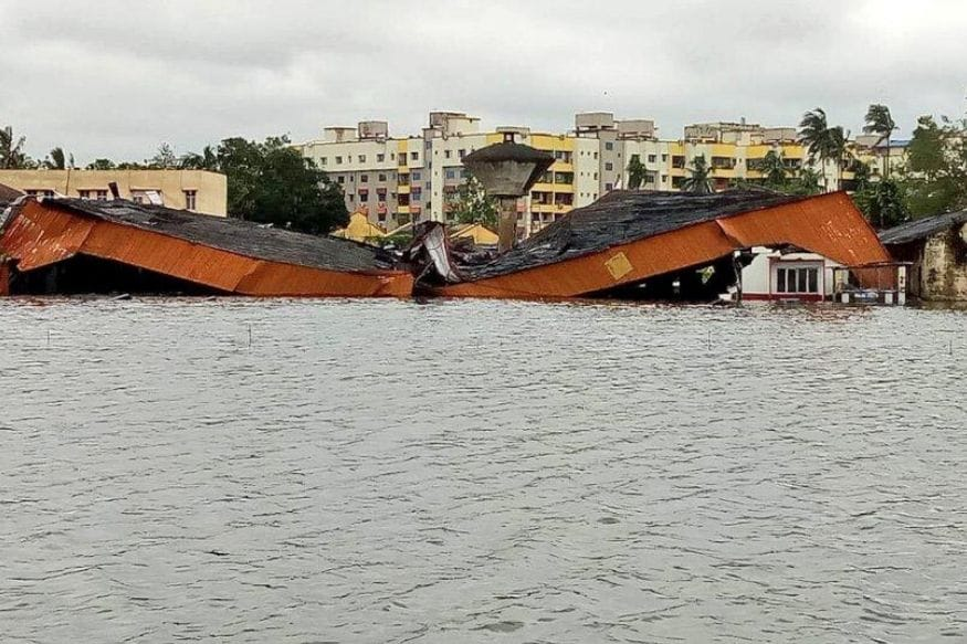 Damage due to Cyclone Amphan. (News18)