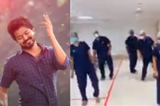 Hospital Staff Dancing to 'Vaathi Coming' from Vijay's Master is a Stress Buster During Covid-19 Crisis
