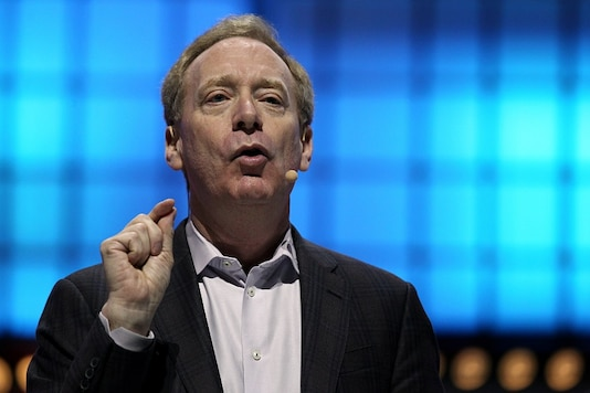 File photo of Microsoft President Brad Smith (Pic Source: Reuters)