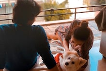Malaika Arora's Love-Filled Picture With Her Pet Dog Casper Is Adorable