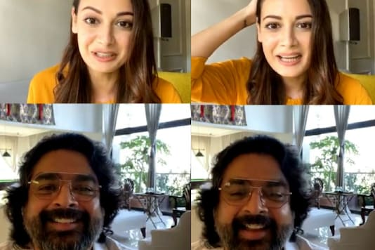 Dia Mirza and Madhavan of Rehna Hain Tere Dil Mein Come Together for A  Reunion