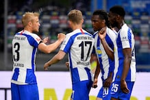 Bundesliga: Hertha Thrash Union in Berlin Derby at Empty Olympic Stadium